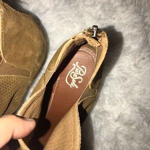 puresole Shoes - Gently used Peep toe heeled shoe